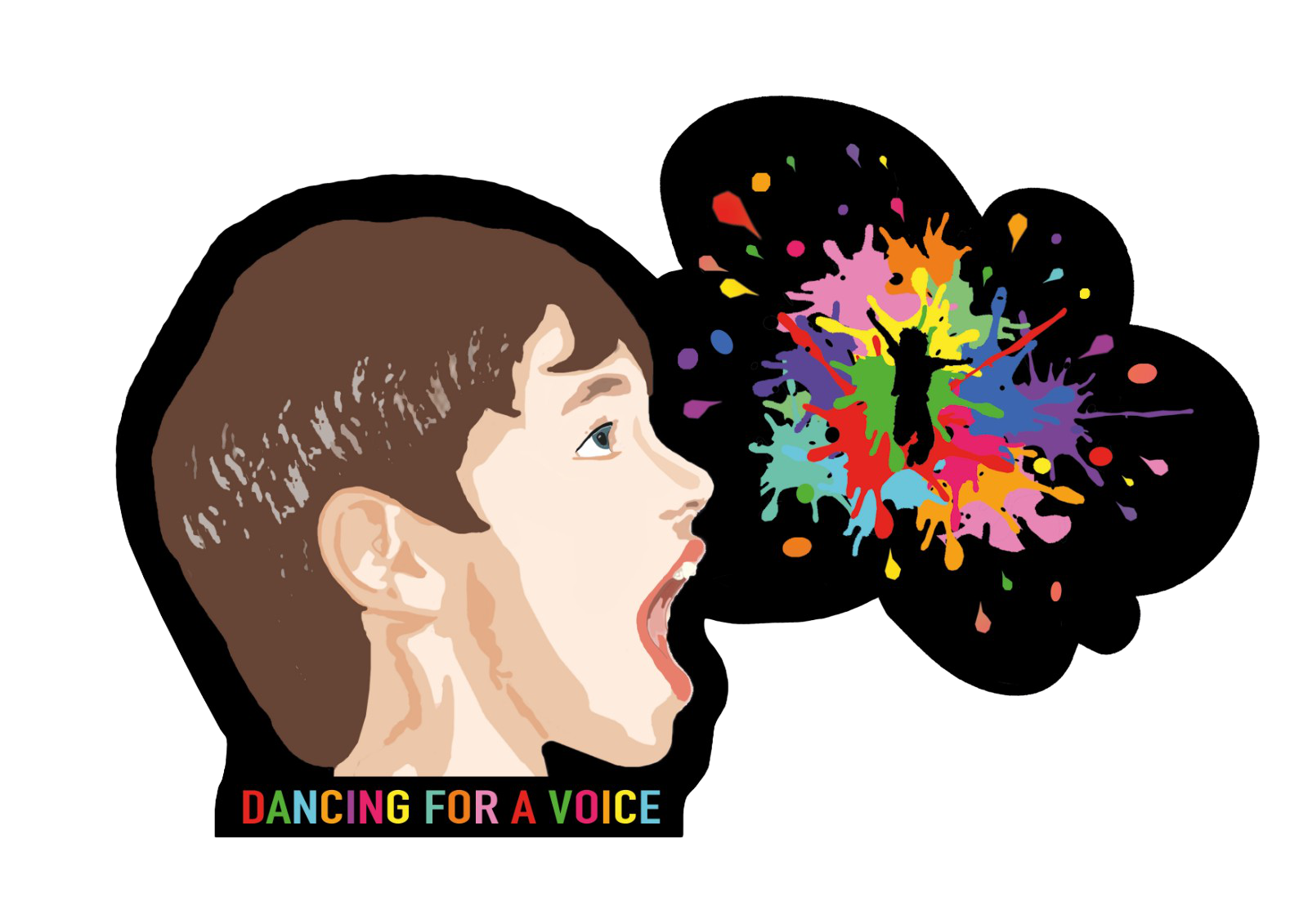 Dancing Out For A Voice